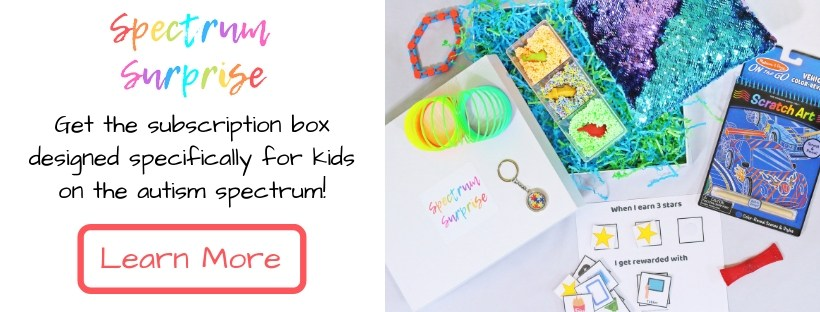 Subscription box for kids with autism