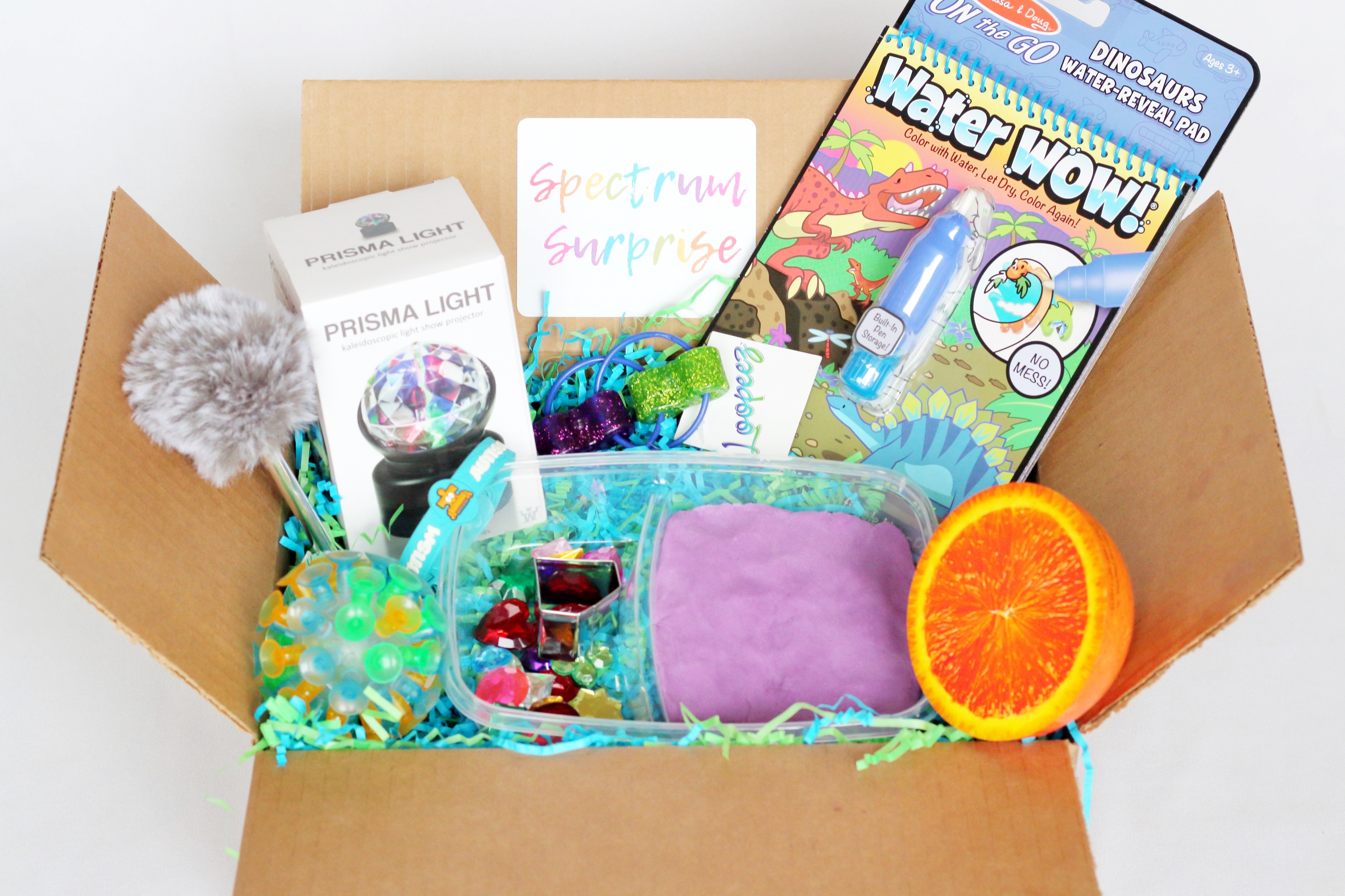 A Subscription Box for Kids with Autism - Spectrum Sense For