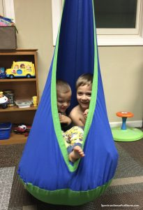 Therapy swing for autism and SPD