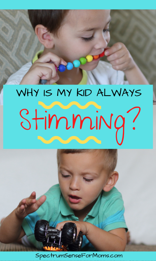 Stimming has great benefits for people on the autism spectrum, but a lot of parents want to know how to help their child stop stimming. This is a great article that explains what stimming is, why autistic kids stim, and how to handle different types of stimming behaviors. #stimming #autismacceptance #autismbehaviors