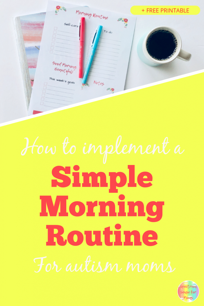 I thought it would be impossible to start a morning routine, since my kids are so incredibly needy. This has made such a difference in my daily productivity, and has helped me to take back control of the life that I felt was slipping away! A simple morning routine can make such a difference in your attitude, and make your home a happier place!