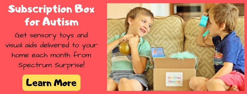 Subscription box for autism
