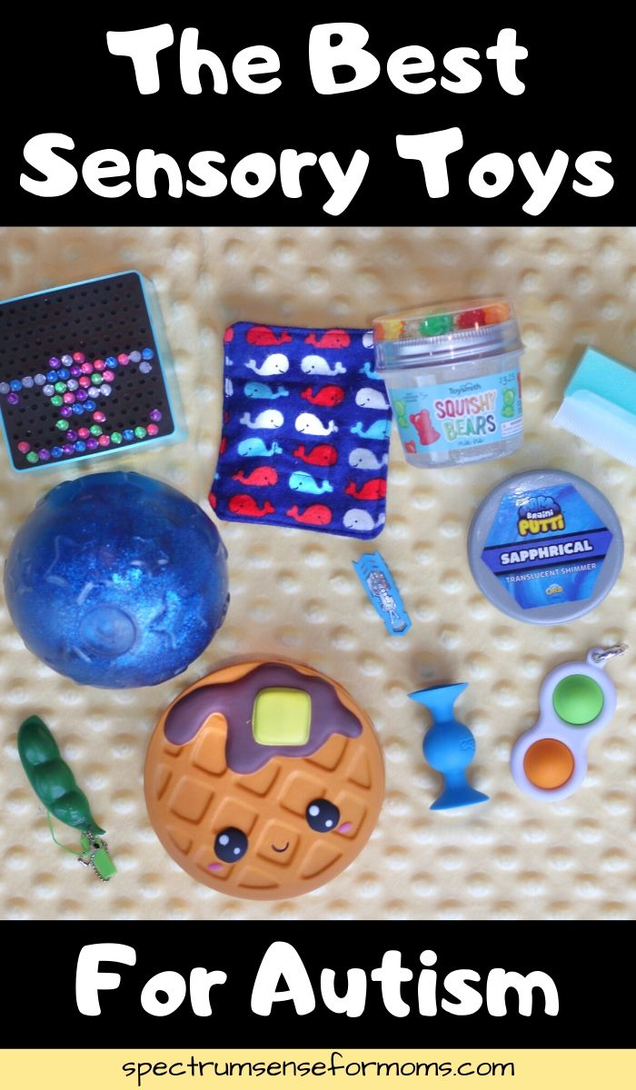Our sensory kids benefit so much from the proper types of input. Finding the best sensory toys for autistic kids can be a challenge, so I've broken it down into categories, based on the type of input. We are sensory experts in my family, lol! #sensory #autism #spectrumsurprise