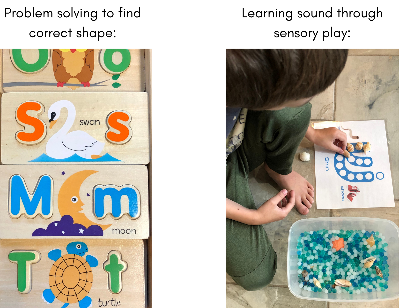 sensory play for kids with autism